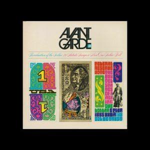 Avant Garde Volume 3, May 1968. Designed by Herb Lubalin
