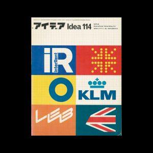 Idea 114, 1972-9. Cover design by F. H. K. Henrion