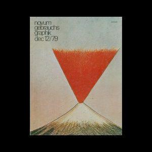 Novum Gebrauchsgraphik, 12, 1979. Cover design by Roland Topor