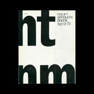 Novum Gebrauchsgraphik, 9, 1979