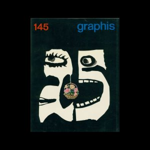 Graphis 145, 1969. Cover design by Jan Lenica.