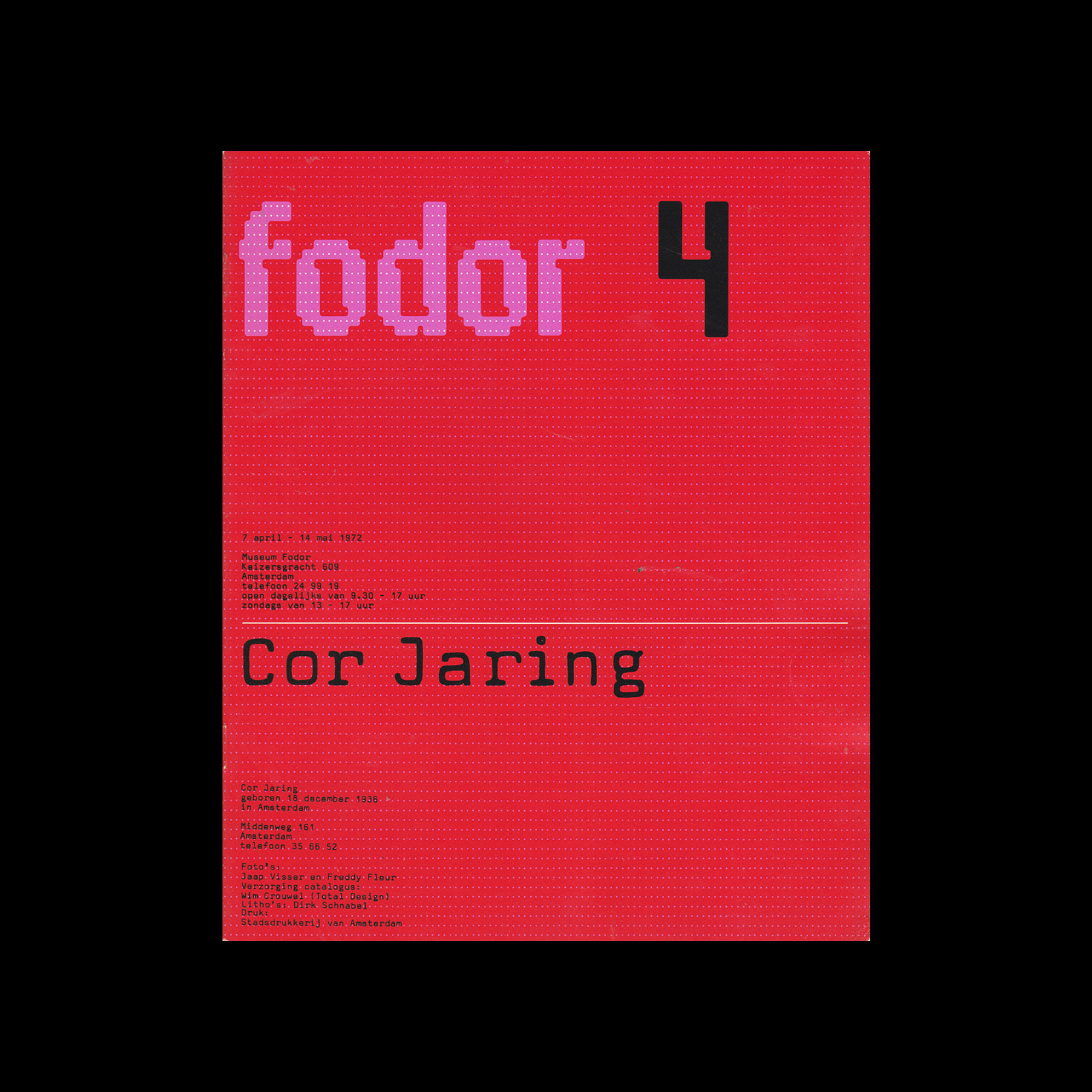Fodor 4, 1972 - Cor Jaring