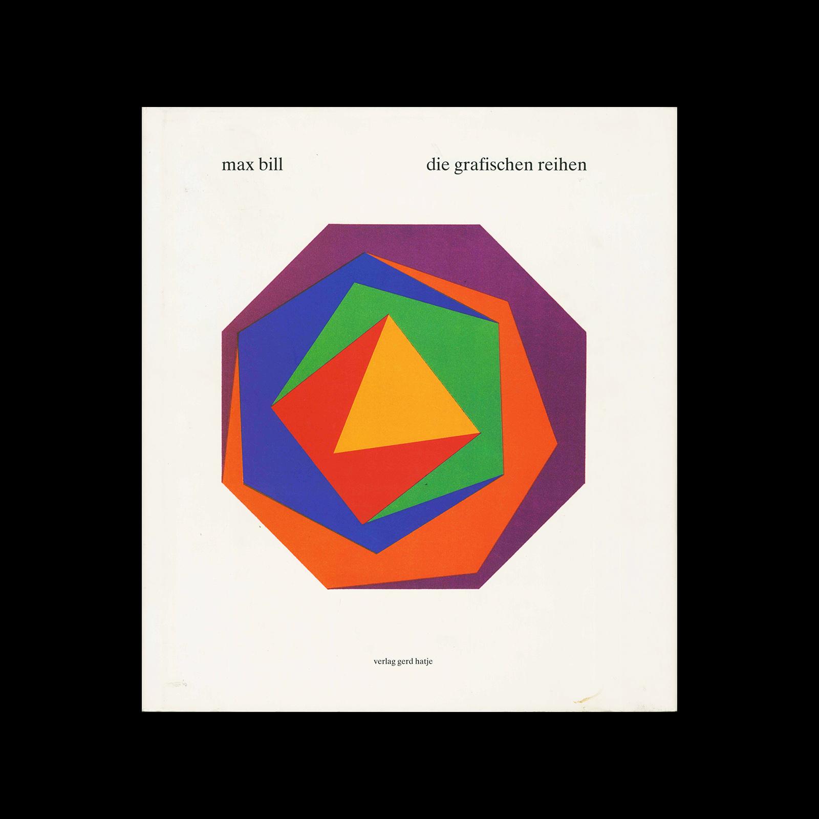 Max Bill, die grafischen Reihen, 1995