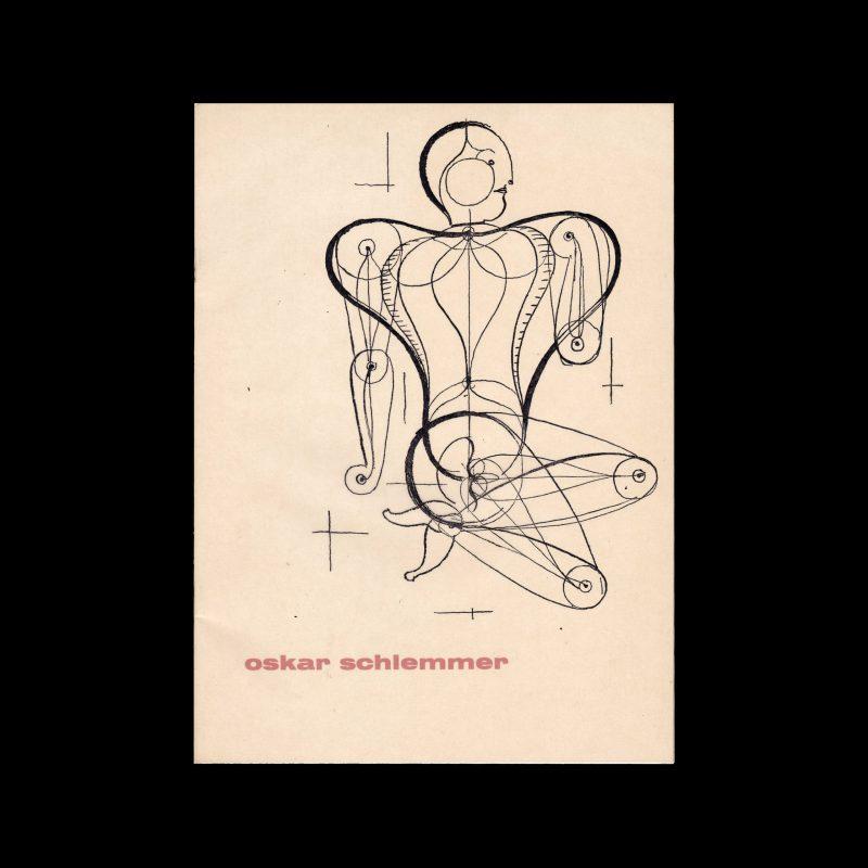 Oskar Schlemmer, Stedelijk Museum Amsterdam, 1954