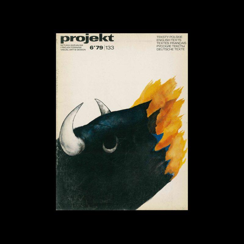 Projekt 133, 6, 1979. Cover design by Marian Murawski