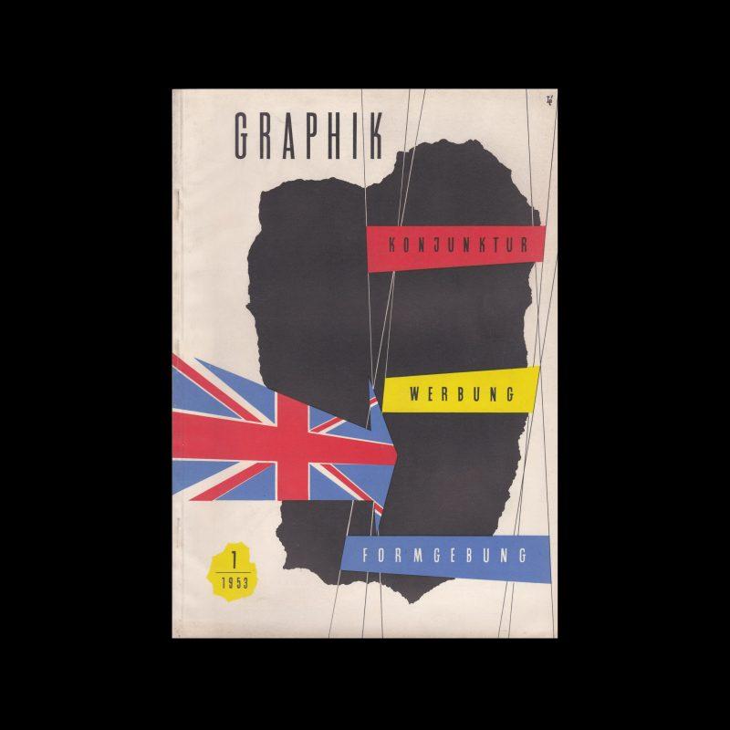 Graphik - Werbung + Formgebung, 1, 1953