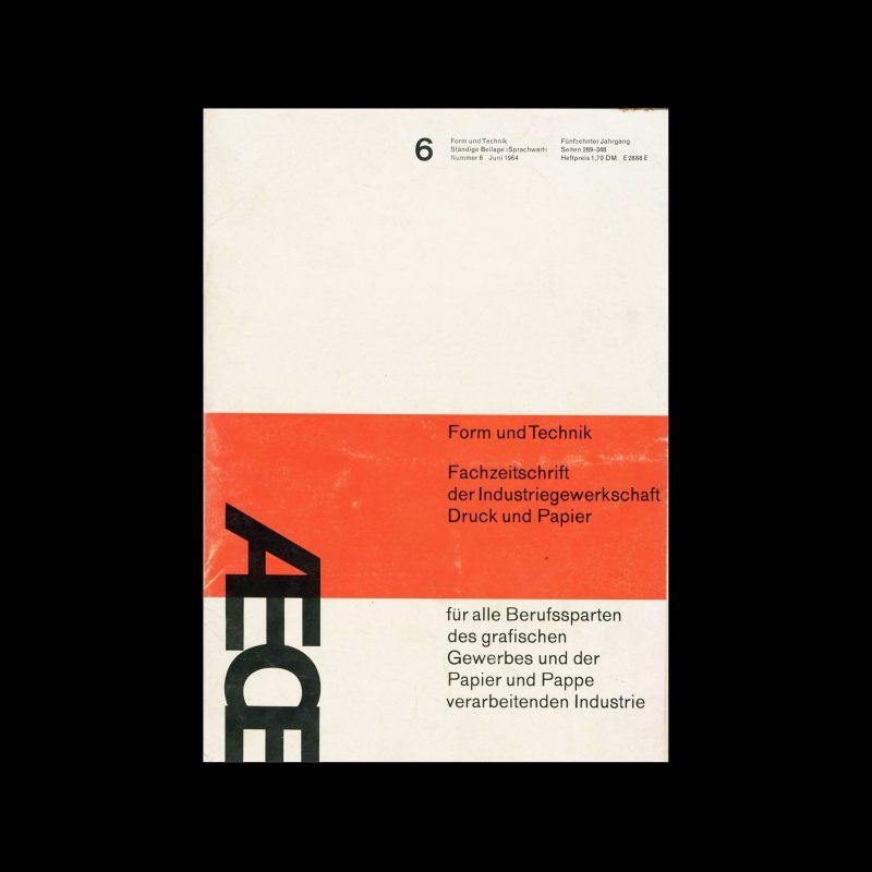 Form und Technik, 6, 1964