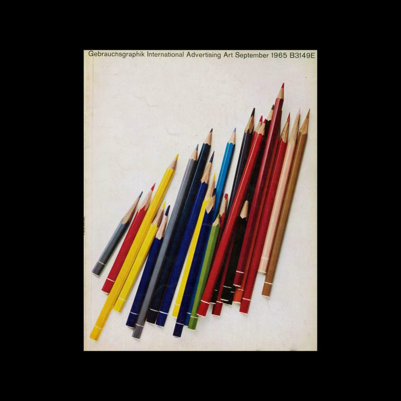 Gebrauchsgraphik, 9, 1965
