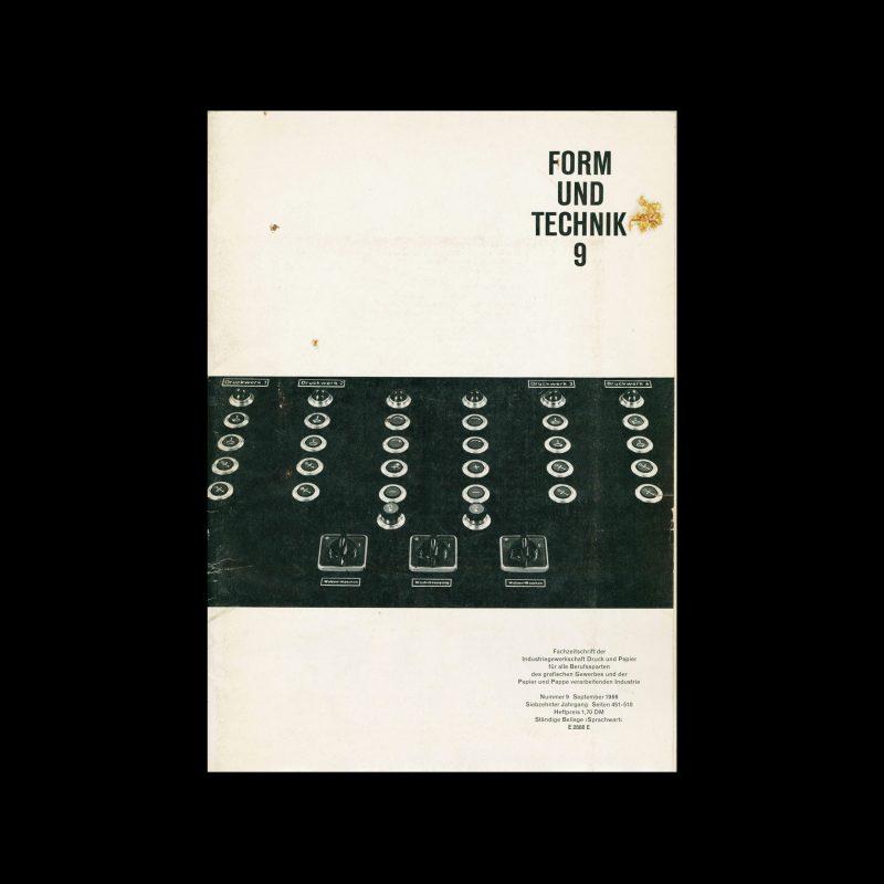 Form und Technik, 9, 1966