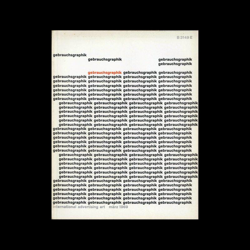 Gebrauchsgraphik, 3, 1969