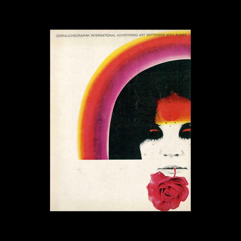 Gebrauchsgraphik, 9, 1971