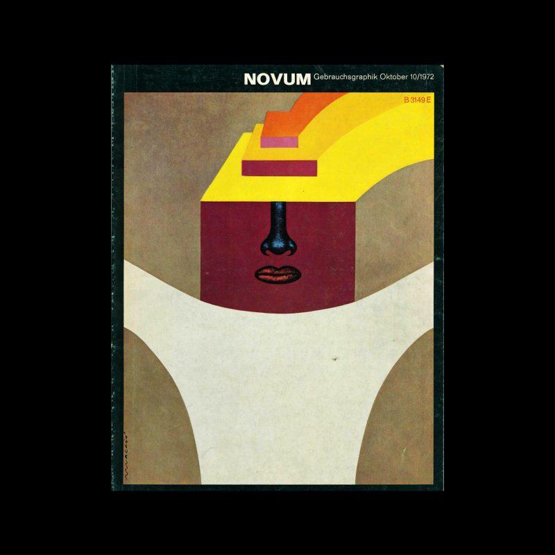 Novum Gebrauchsgraphik, 10, 1972