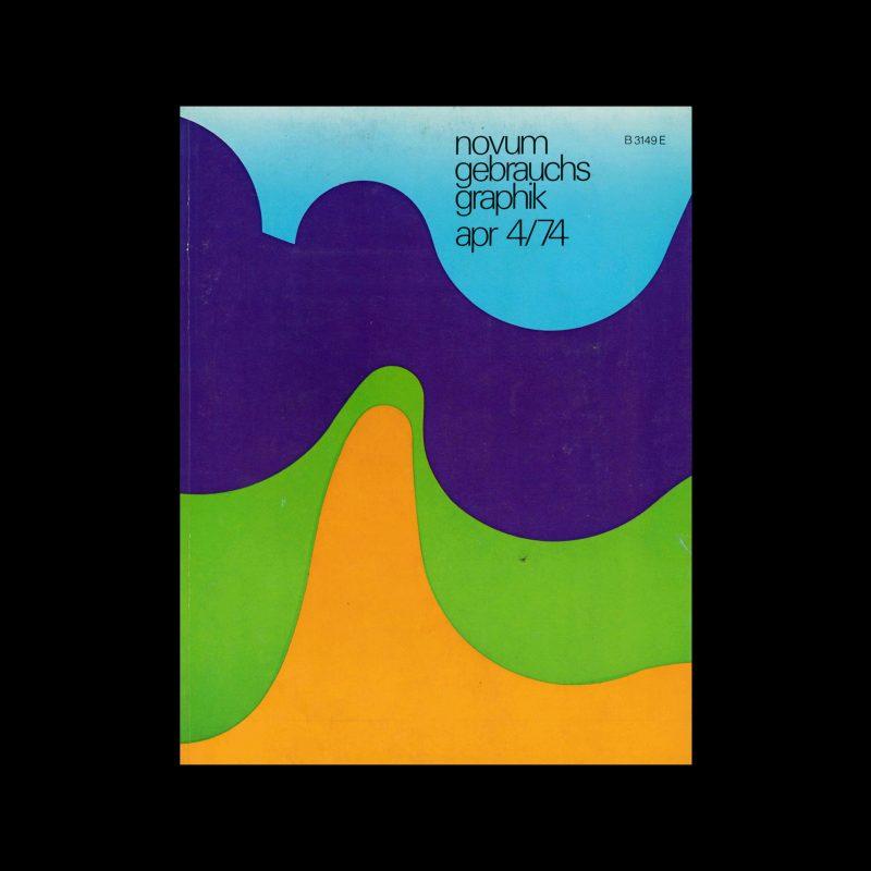 Novum Gebrauchsgraphik, 4, 1974