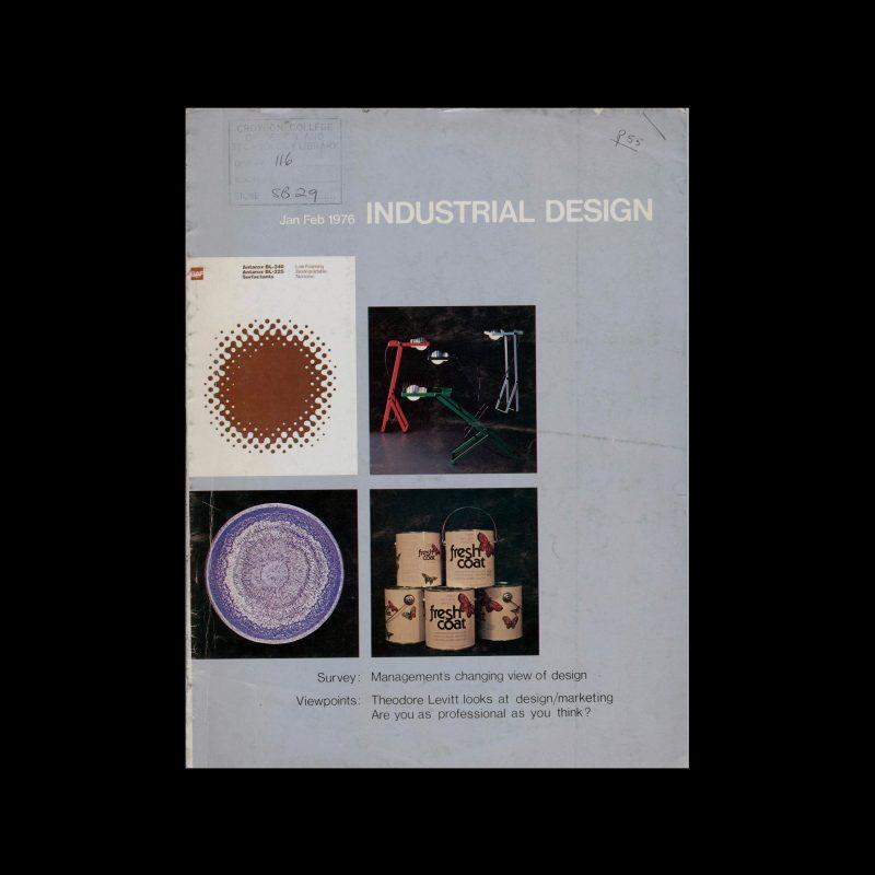 Industrial Design, January-February, 1976