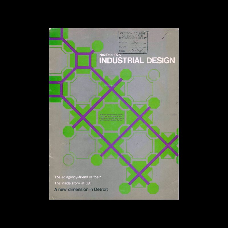 Industrial Design, November-December, 1976