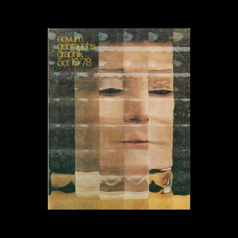 Novum Gebrauchsgraphik, 10, 1978. Cover design by Claude Baillargeon