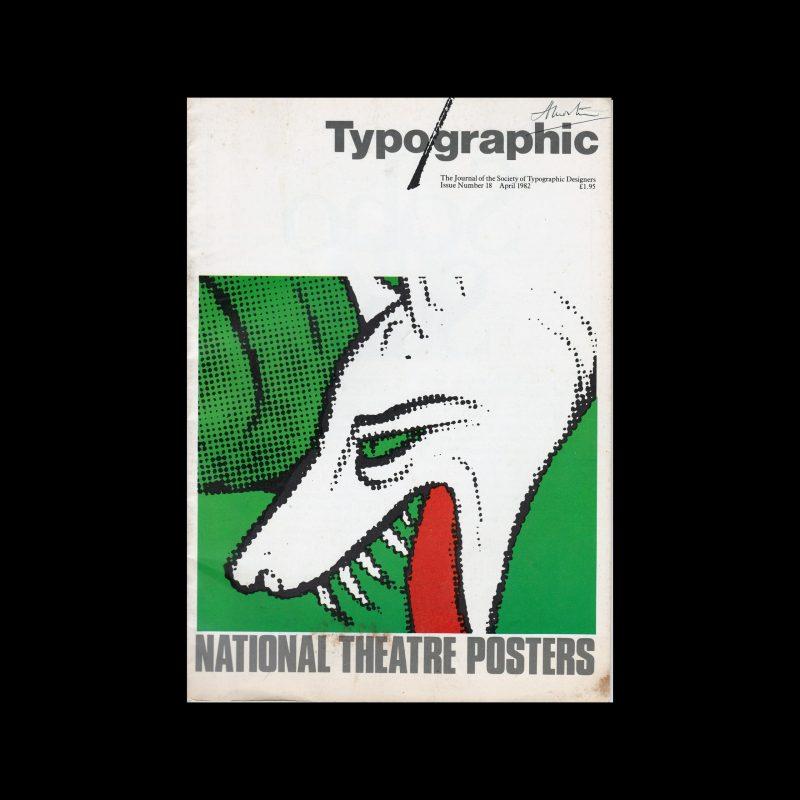 Typographic, 18, April 1982