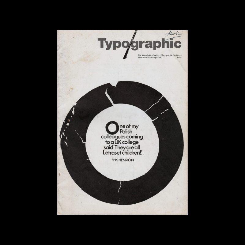 Typographic, 19, August 1982