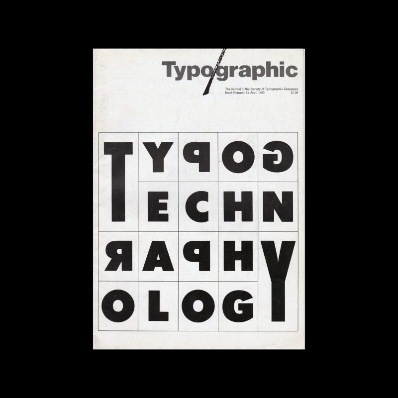 Typographic, 21, April 1983