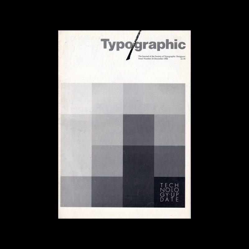 Typographic, 26, December 1984