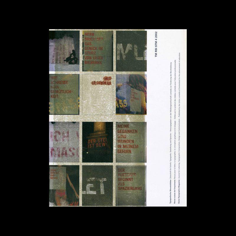 Typografische Monatsblätter, 4, 2002