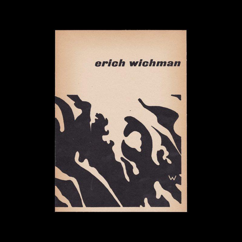 Erich Wichman, Stedelijk Museum Amsterdam, 1959 designed by Willem Sandberg