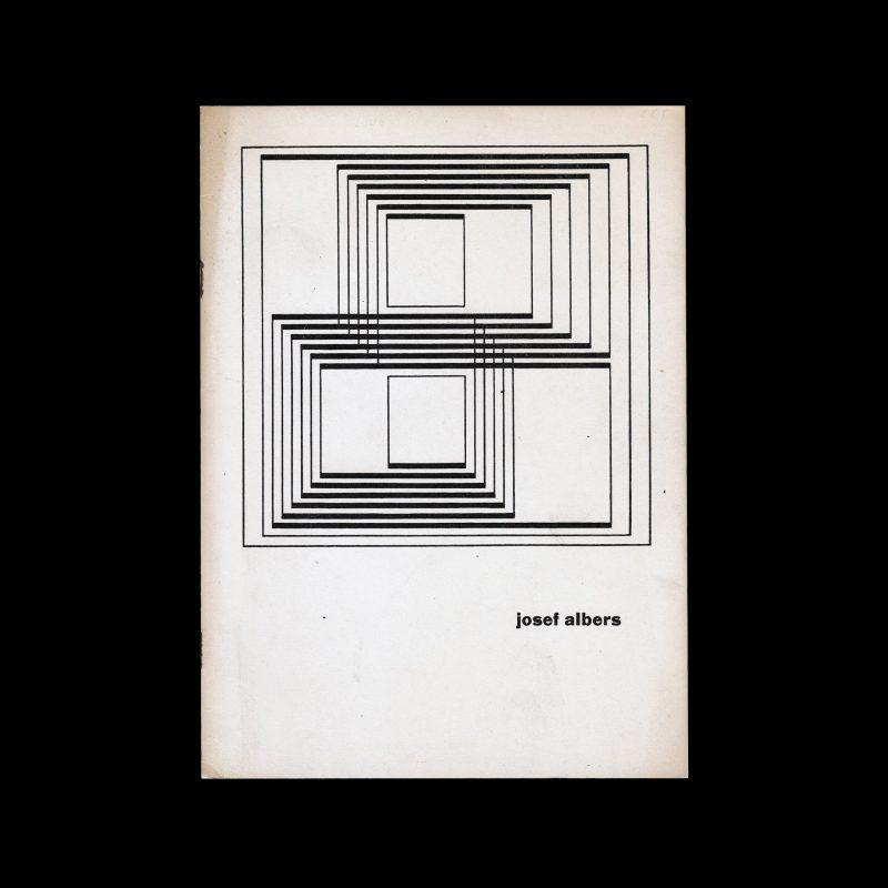 Josef Albers, Stedelijk Museum Amsterdam, 1961