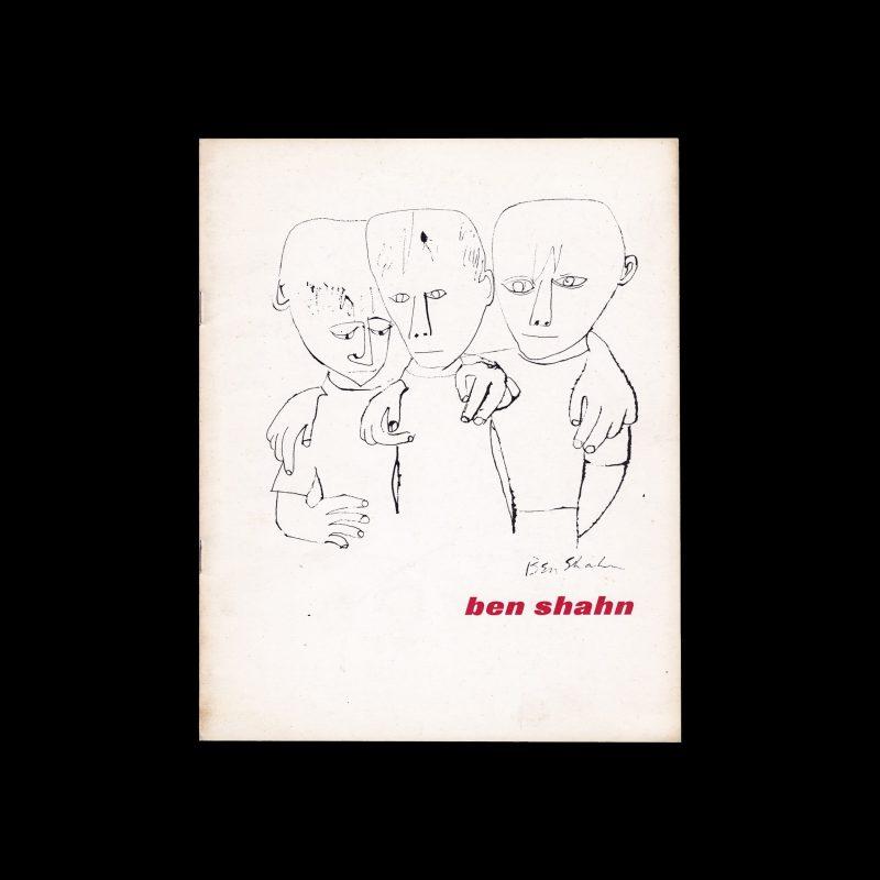 Ben Shahn, Stedelijk Museum Amsterdam, 1961