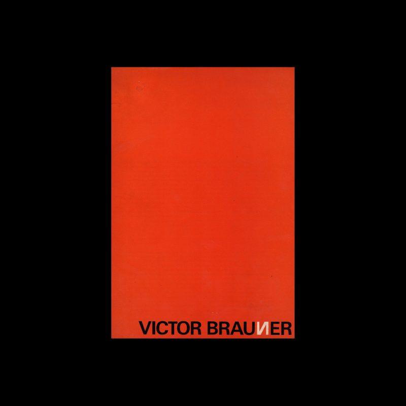 Victor Braunner, Stedelijk Museum, Amsterdam, 1965 designed by Wim Crouwel and Anneke Huig (Total Design)