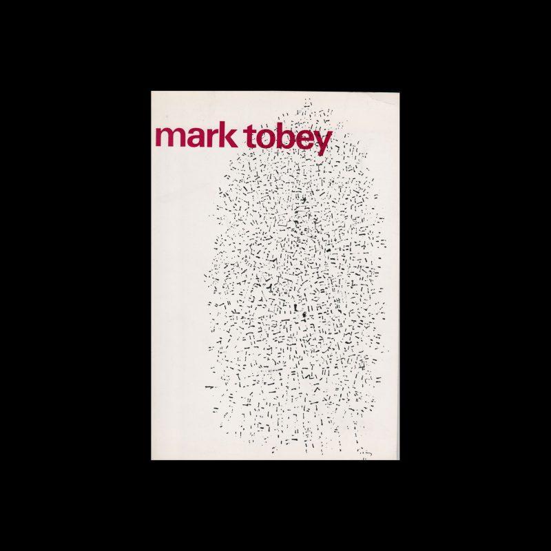 Mark Tobey, Stedelijk Museum, Amsterdam, 1966 designed by Wim Crouwel