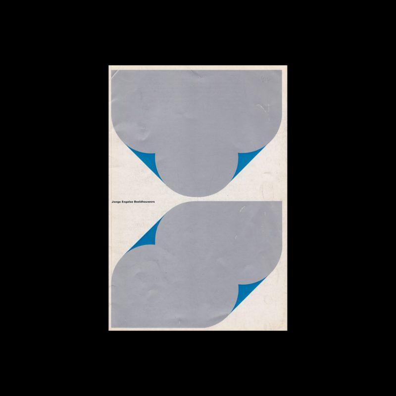 Jonge Engelse Beeldhouwers, Stedelijk Museum, Amsterdam, 1967 designed by Wim Crouwel and Josje Pollmann