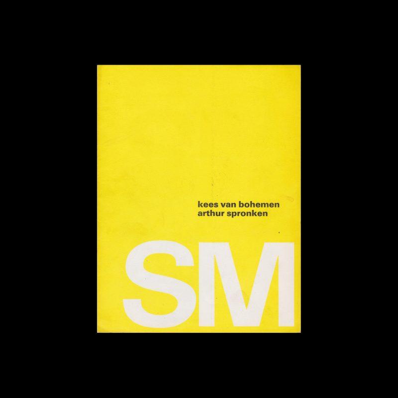 Kees van Bohemen and Arthur Spronken, Stedelijk Museum, Amsterdam, 1968 designed by Wim Crouwel (Total Design)