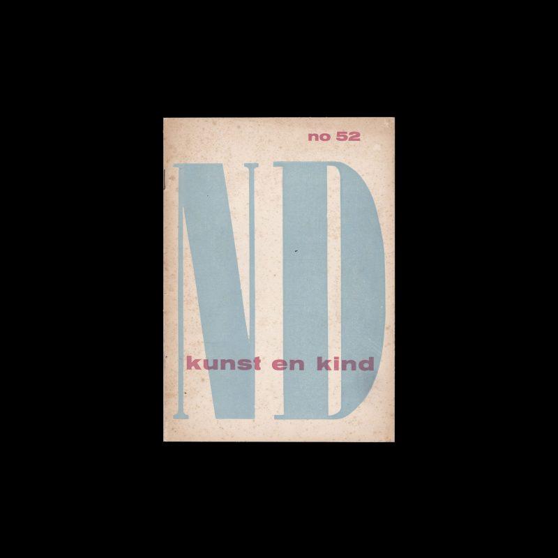 Kunst en Kind Stedelijk Museum Amsterdam, 1949 designed by Willem Sandberg