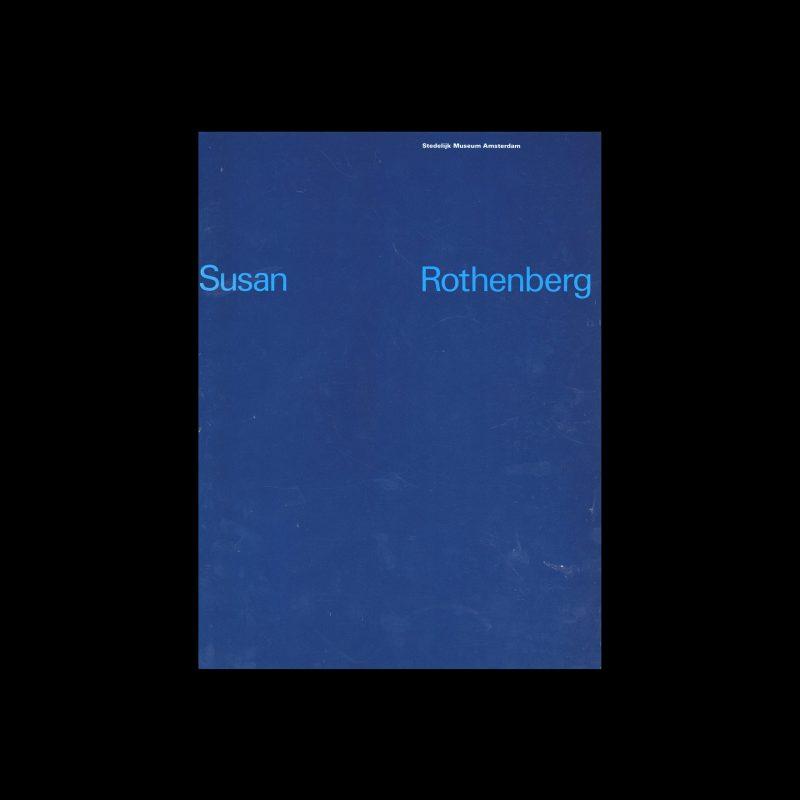 Susan Rothenberg, Stedelijk Museum, Amsterdam, 1982 designed by Total Design