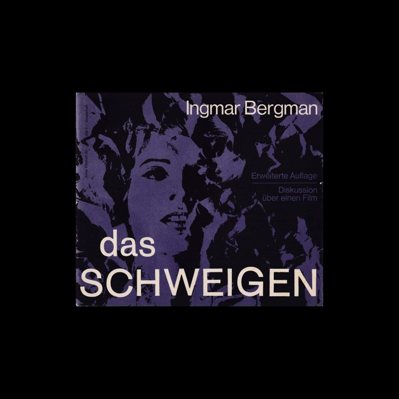 Atlas Filmheft 32 - Das Schweigen designed by Fischer-Nosbisch