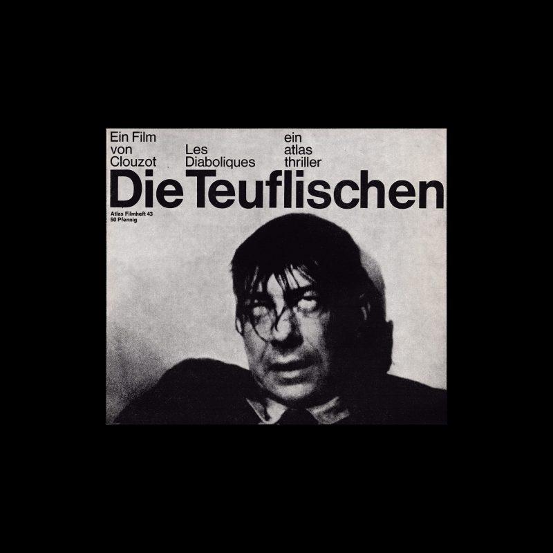 Atlas Filmheft 43 – Die Teuflischen designed by Hans Michel