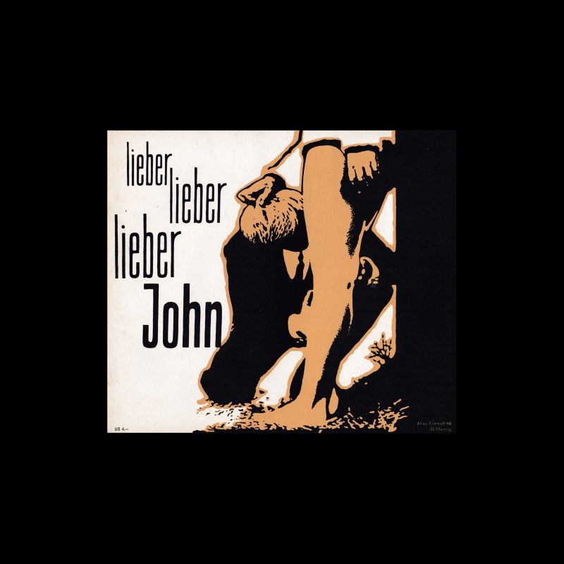 Atlas Filmheft 48 – Lieber John designed by Fischer-Nosbisch