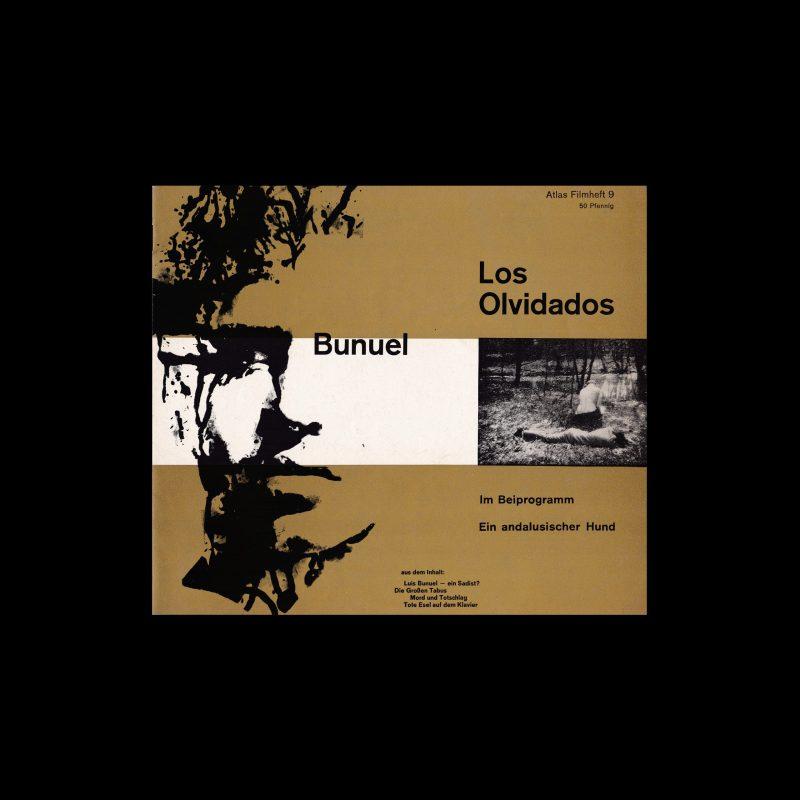 Atlas Filmheft 09 - Los olvidados designed by Fischer-Nosbisch