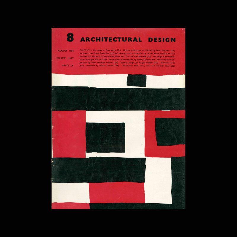 Architectural Design, August 1954