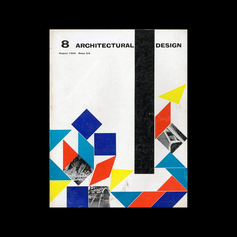 Architectural Design, August 1960. Cover design by Theo Crosby