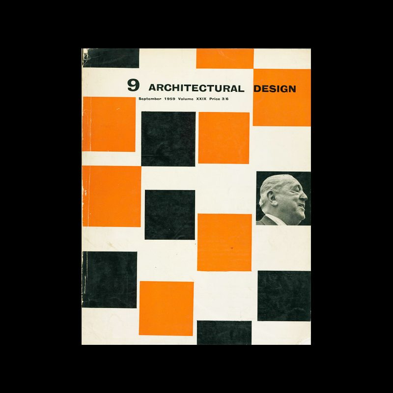 Architectural Design, September 1959. Cover design by Theo Crosby