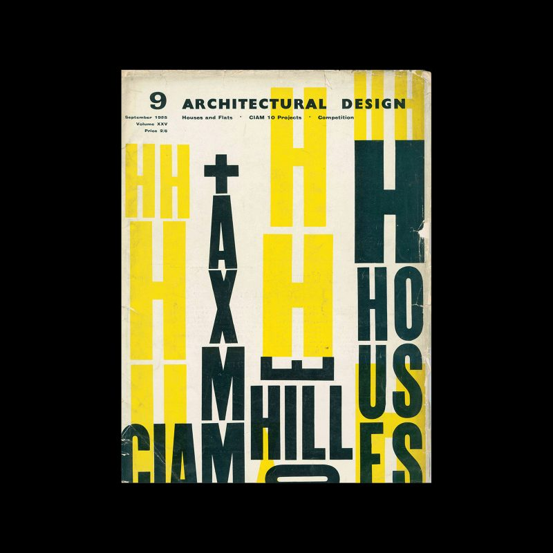 Architectural Design, September 1965. Cover design by Theo Crosby