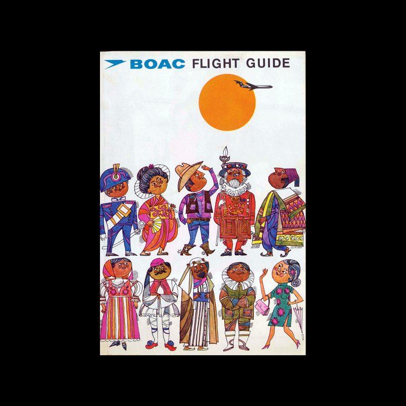 BOAC Flight Guide and Menu, 1967