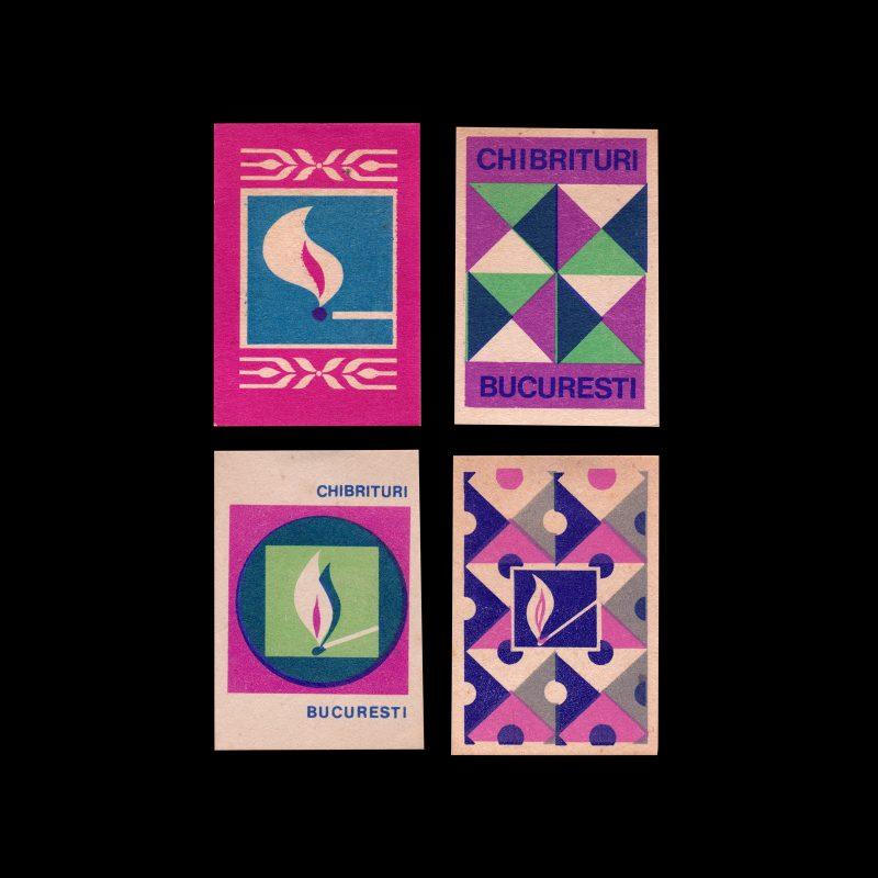 Chibrituri Bucuresti Romanian matchbox labels