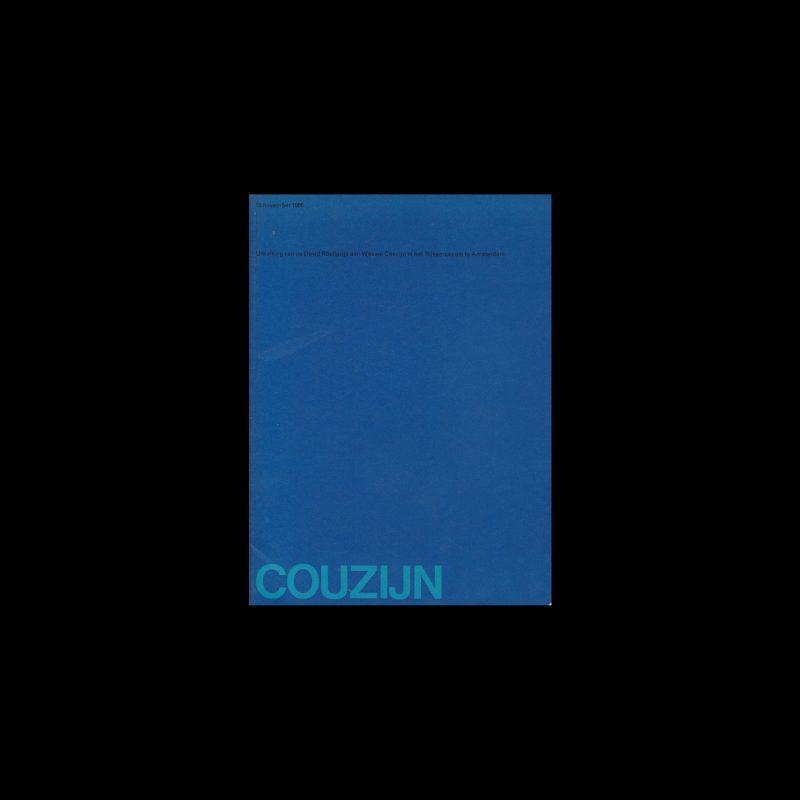 Couzijn, Rijksmuseum, Amsterdam, 1966 designed by Wim Crouwel