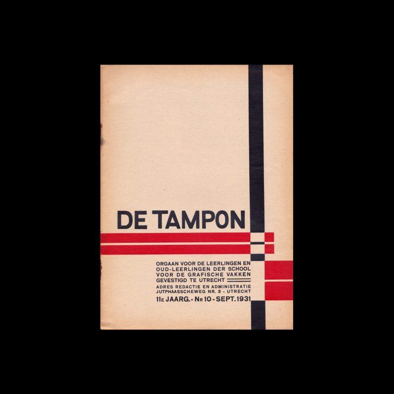De Tampon, Sept 1931, School voor de Grafische Vakken, Utrecht