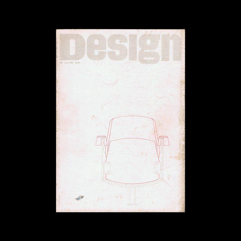 Design, Council of Industrial Design, 198, June 1965. Cover design by Hans Schleger