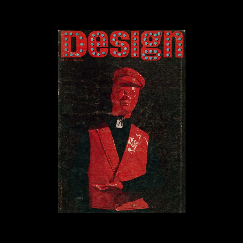 Design, Council of Industrial Design, 212, August 1966. Cover design by Michael Wolff