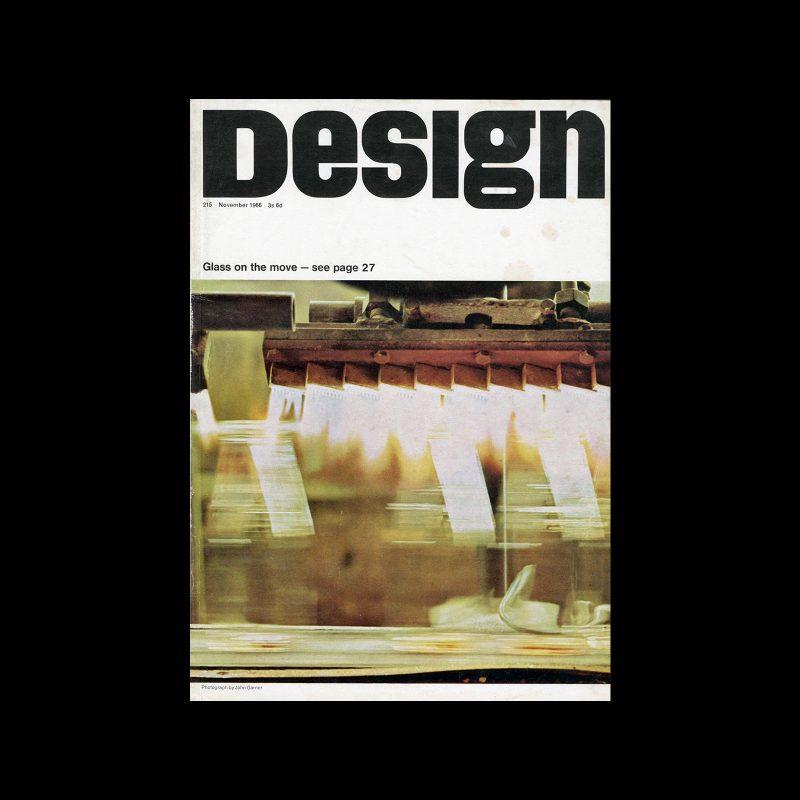Design, Council of Industrial Design, 215, November 1966