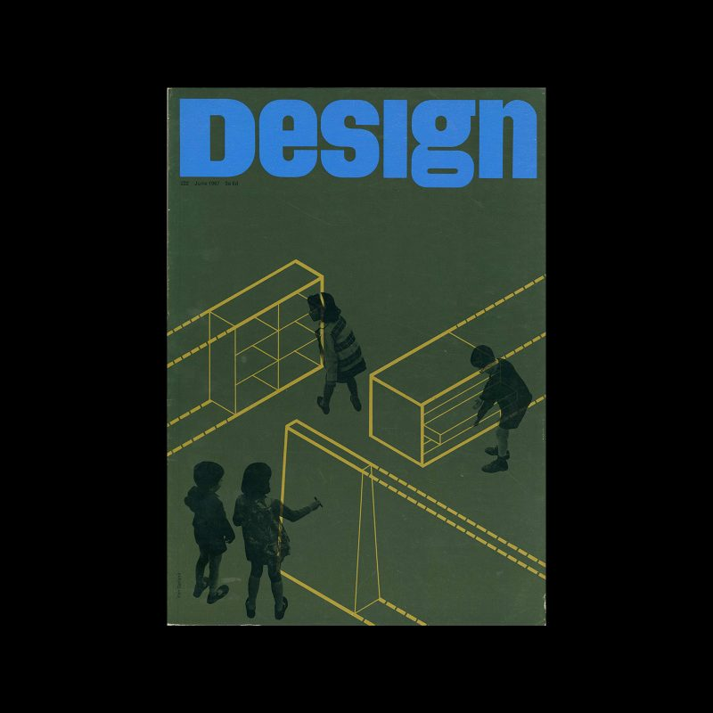Design, Council of Industrial Design, 222, June 1967. Cover design by Ken Garland